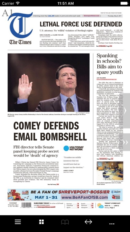 The Times Print Edition