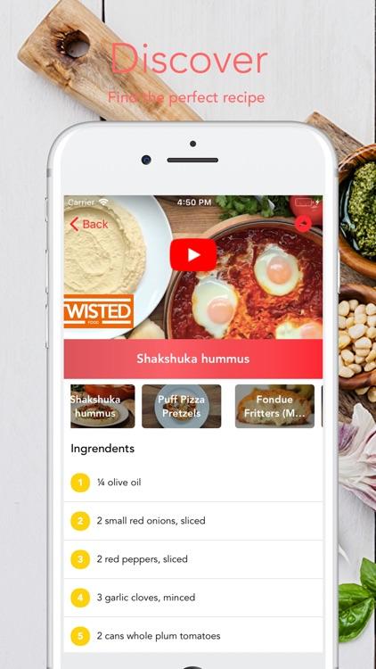 Food Rack | Yummy food recipes screenshot-4
