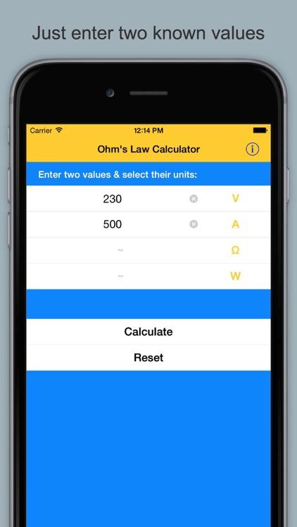 Ohm's Law Calculator & Guide