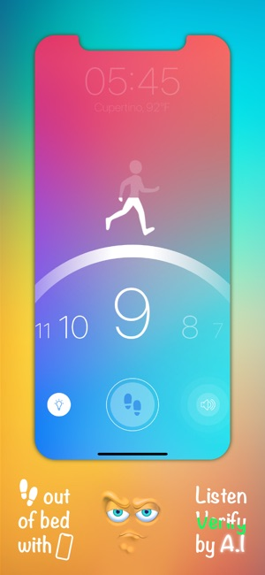 Step Out! Smart Alarm Clock Screenshot