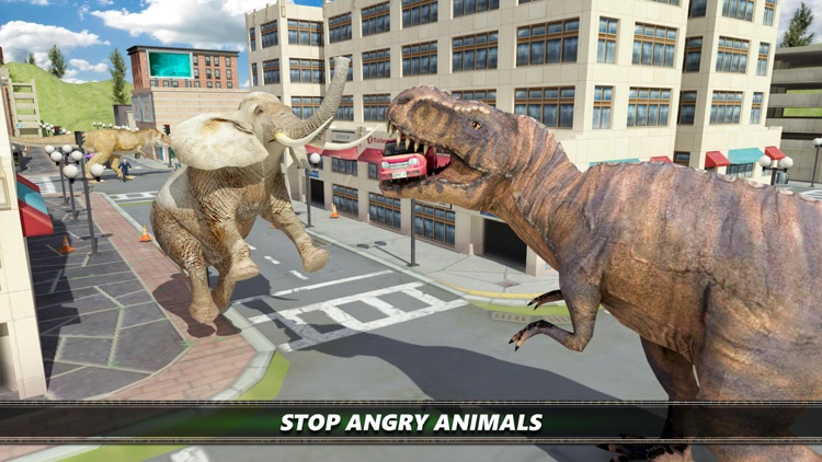 Dinosaur City Simulator Games