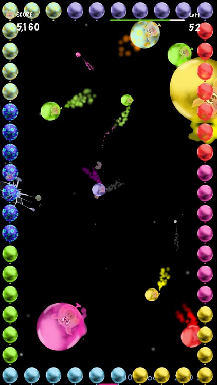 Crazy Pigs conquering Space Game screenshot-3