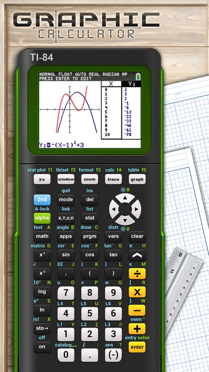 TI-84 Graph. Calculator Manual screenshot-4