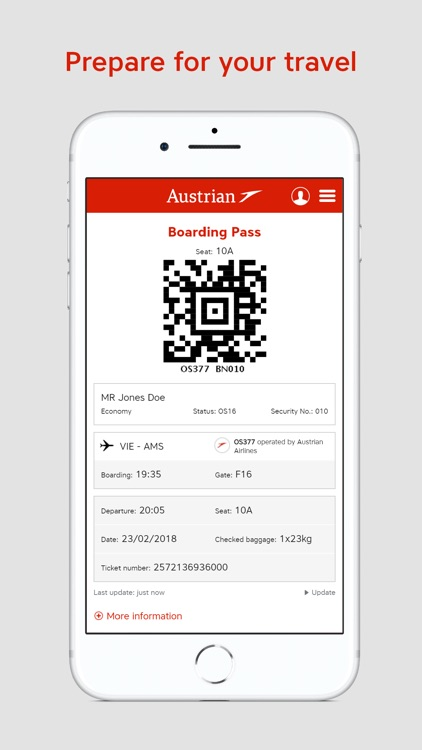 Austrian Airlines screenshot-4