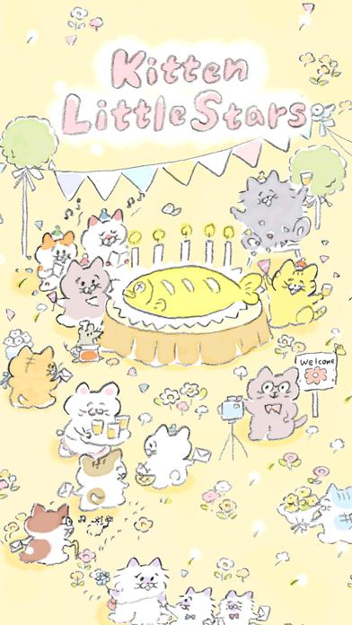 Kitten Little Stars screenshot one