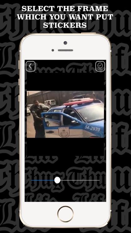 Thug Life video maker music screenshot-4