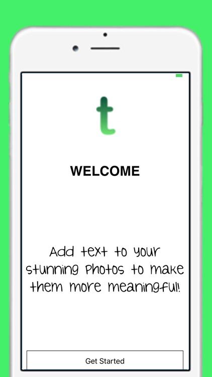 Text on Photo!