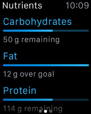 MyFitnessPal Screenshot