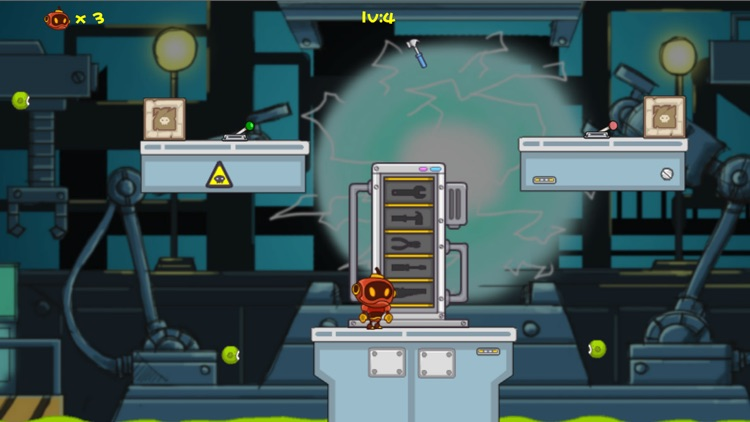 (Robot Plumber)机器人管道维修-机器人游戏 screenshot-3