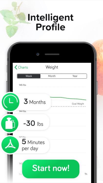 Calorie & Food Counter   Arise screenshot-3