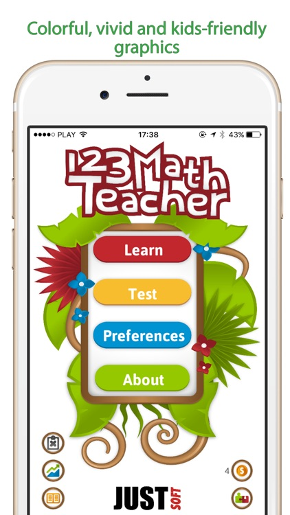 123 Math Teacher - times table and puzzle game