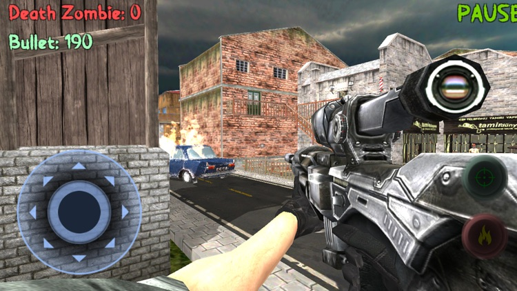 Sniper: Zombie Hunter Missions screenshot-2