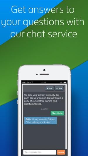 british gas online chat