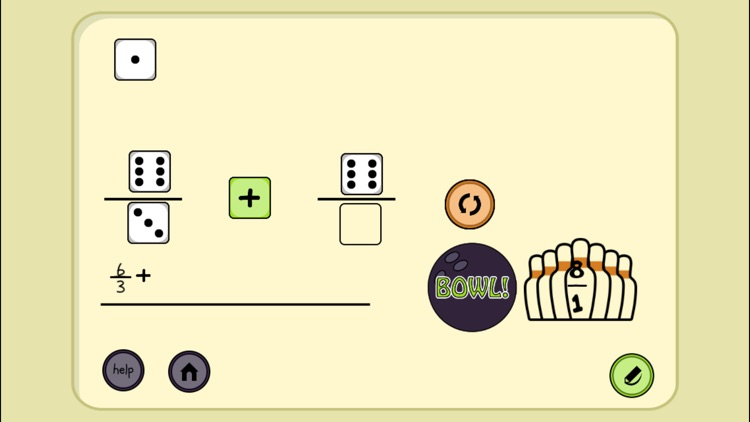 4 Dice a Fractions Game screenshot-5