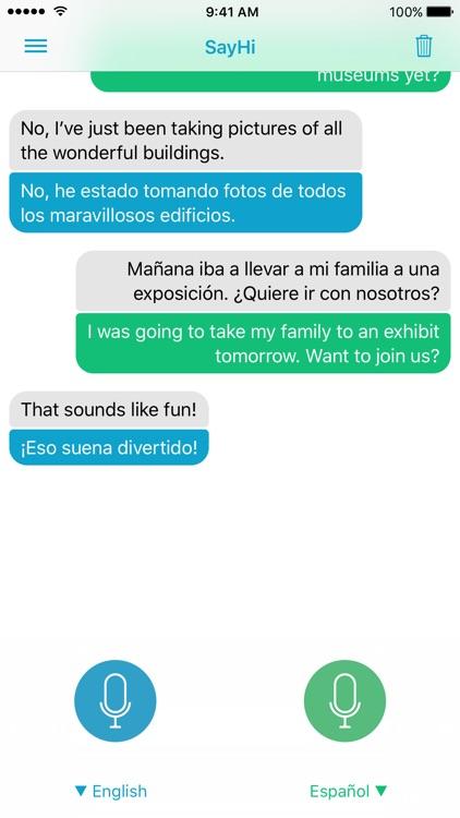 SayHi Translate screenshot-0