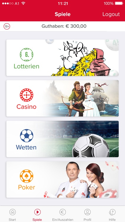 win2day: Casino, Lotto, Wetten