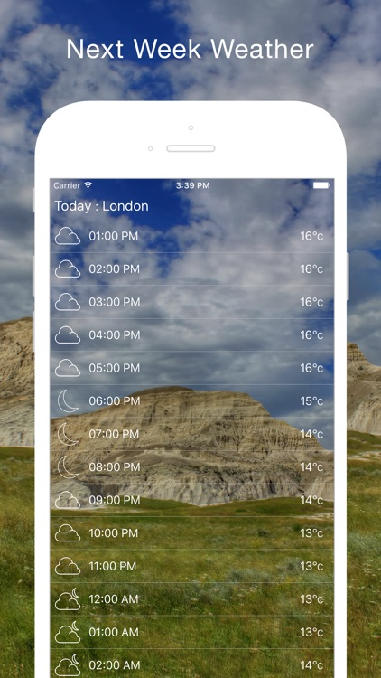 Live Weather & Temperature