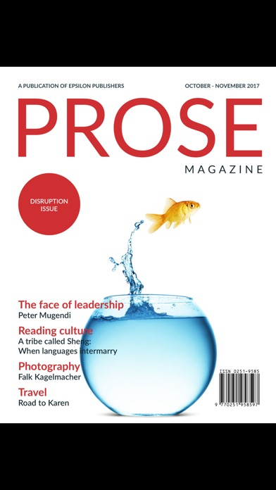 Prose magazine screenshot 3