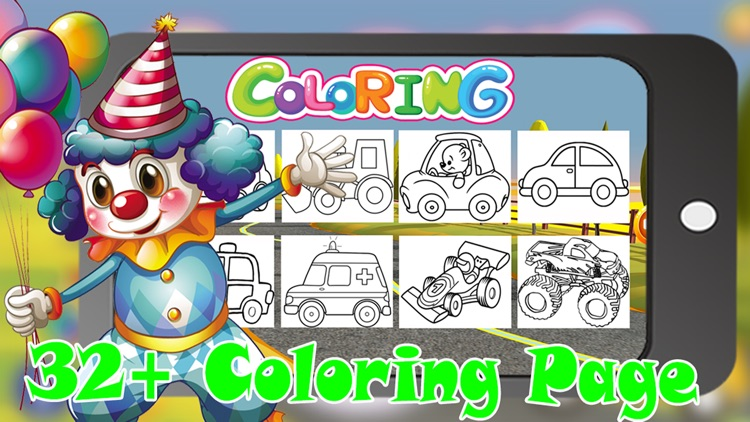 Coloring Book My Car