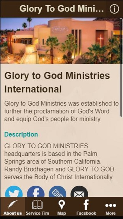 Glory to God Ministries