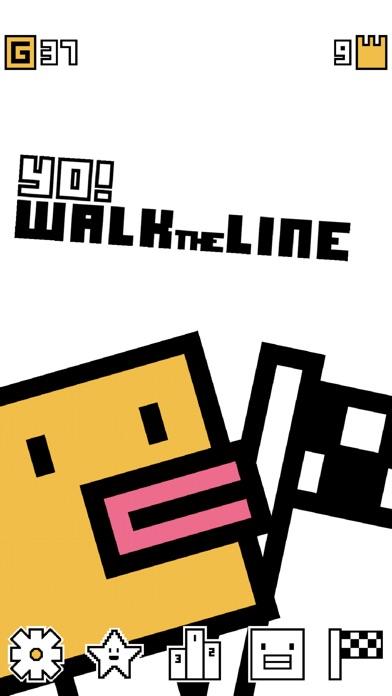 Yo! Walk the Line Screenshot 1