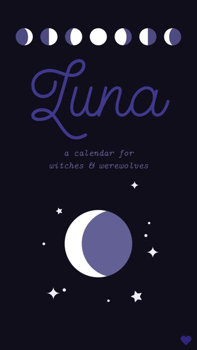 Luna — Lunar Calendar screenshot one
