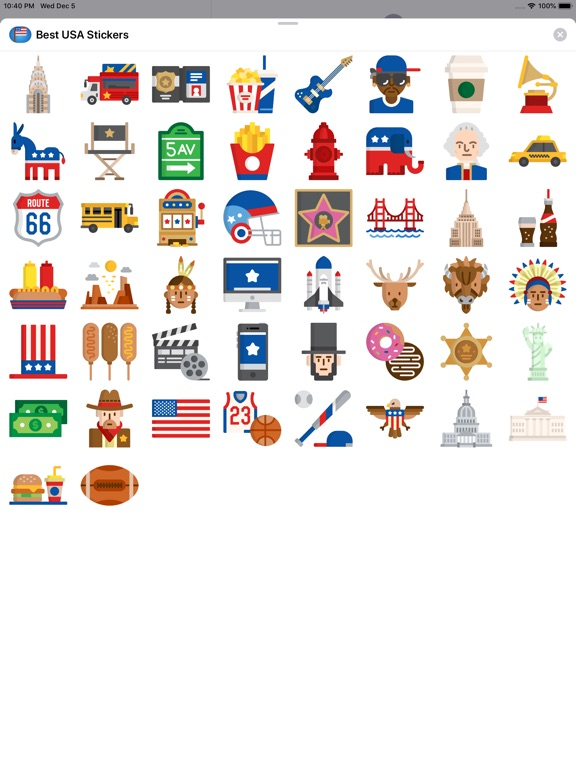 Best USA Stickers screenshot 5