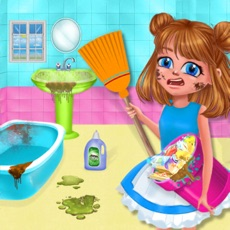 Activities of Girls Cleanup House Cleaning