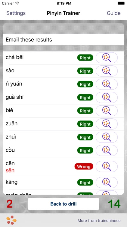 Pinyin Trainer for Educators
