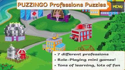 PUZZINGO Professions Puzzles screenshot one