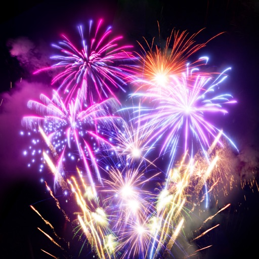 Animated Fireworks Sticker App