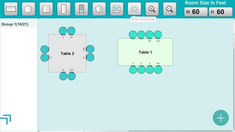 Seating Arrangement screenshot-6