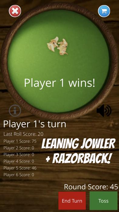 Toss the Pigs - Fun Dice Game screenshot two
