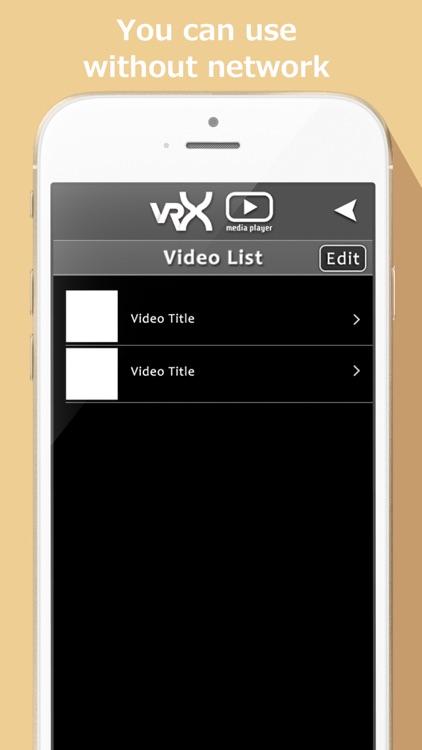 VRX Media Player screenshot-4