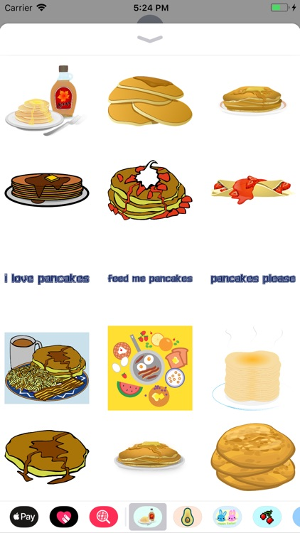 Pancake Flapjack Stickers