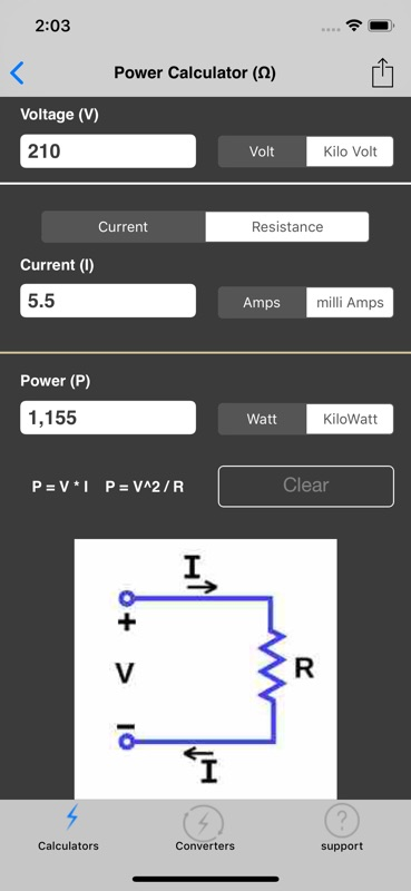 Electrical Calculator lite - Online Game Hack and Cheat