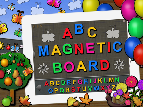 ABC Talking Magnetic Board screenshot 1