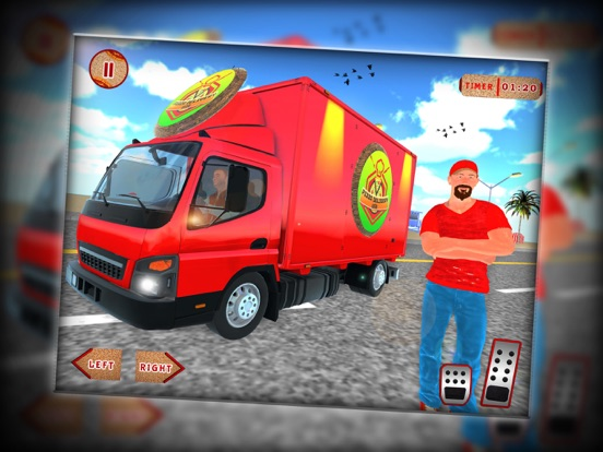 City Pizza Cargo Delivery Boy screenshot #5