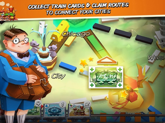 Скачать игру Ticket to Ride: First Journey