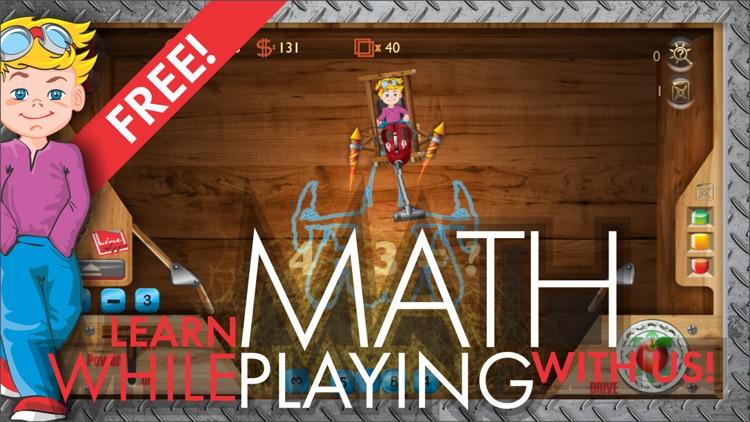 Jet Math Craft: Game Math screenshot-0