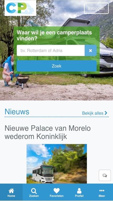 Camperplaatsen screenshot one
