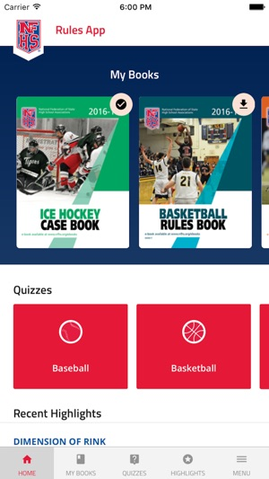 Nfhs rules on the app store screenshots fandeluxe Choice Image