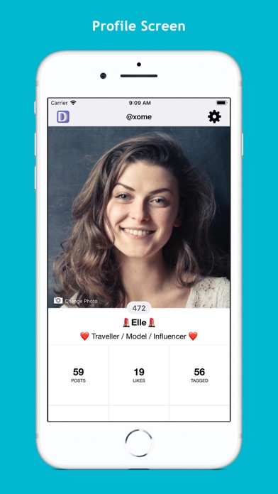 Screenshot of Dizkover - Discover People App