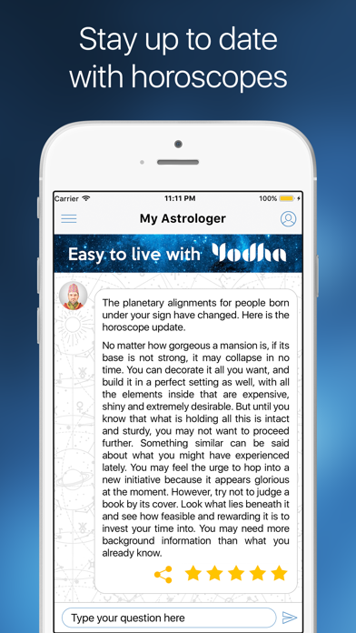 Yodha My Horoscope Screenshot
