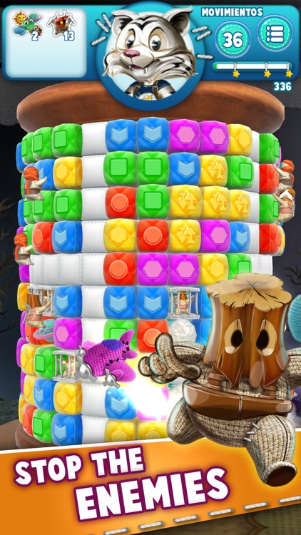 Wooly Blast: Matching Puzzle screenshot-1