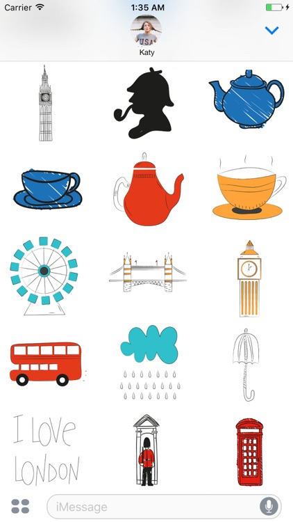 I love London Stickerpack