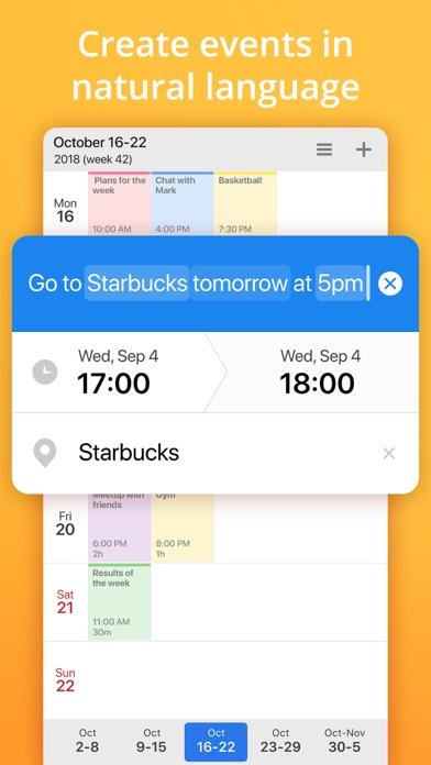 Calendars 5 by Readdle Screenshots