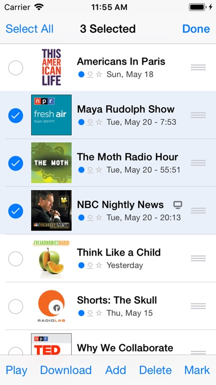 PodCruncher Podcast Player App