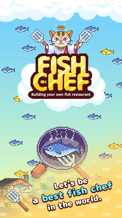 Retro Fish Chef
