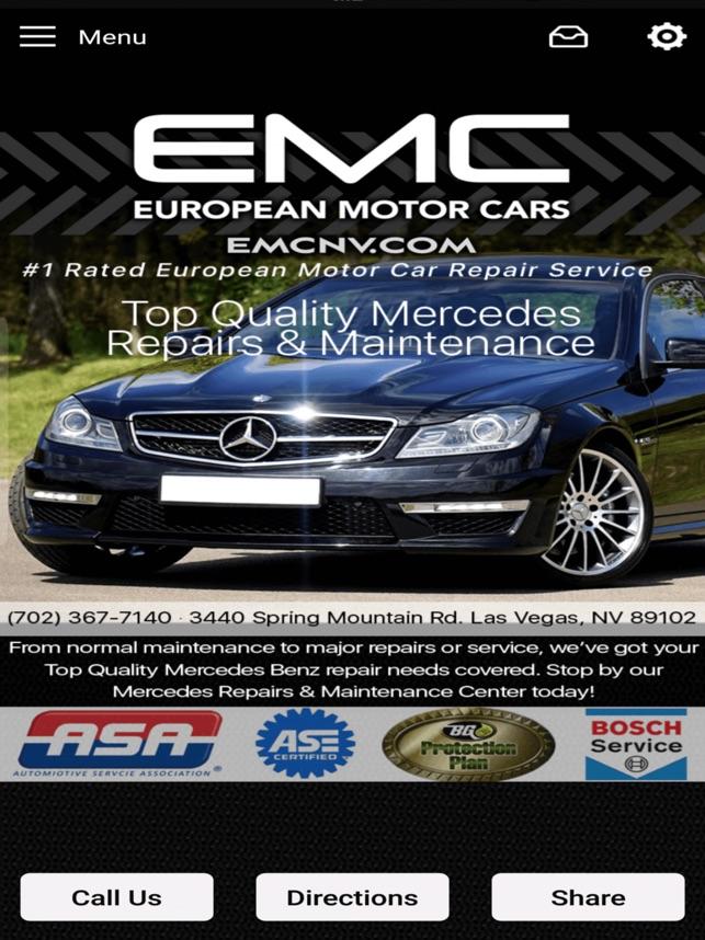 European Motor Cars   EMC On The App Store
